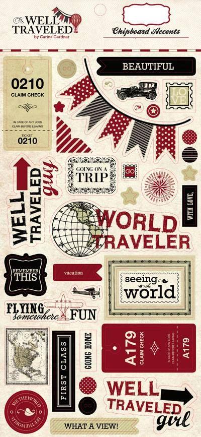 Well Travel Scrapbook 9 Travel Time Theme Pinterest