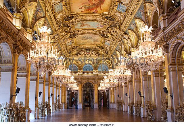 France Paris The Hotel De Ville City Hall The Reception