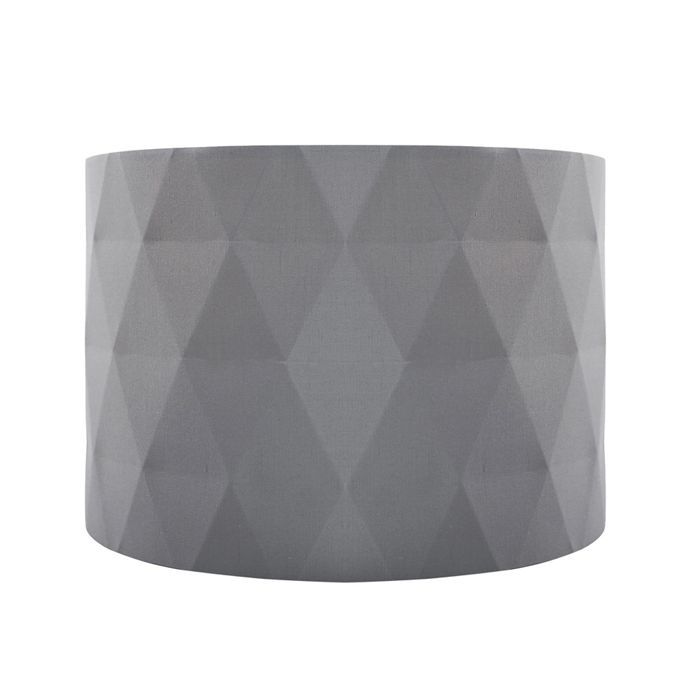 Home collection grey diamond pleat lamp shade debenhams our home collection grey diamond pleat lamp shade debenhams mozeypictures Choice Image