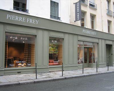 Pierre frey petit parc fabric pierre frey in paris porch color house col - Pierre frey rue du mail ...