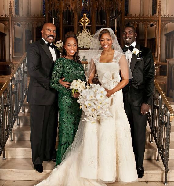 Steve Harvey At His Daughter S Wedding