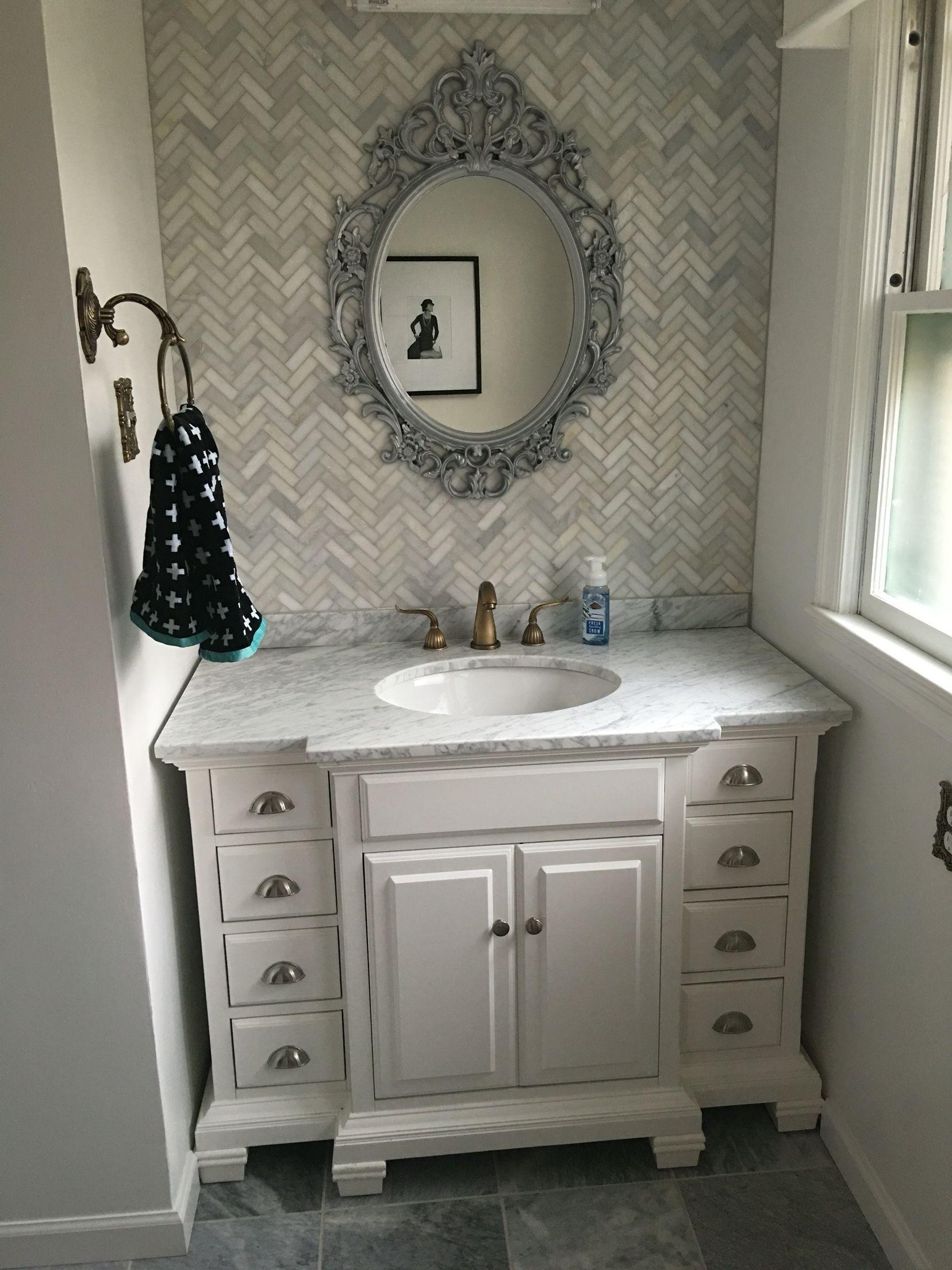 - 7+ Interesting Bathroom Backsplash Ideas - Design Ideas To Inspire