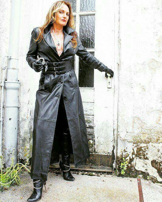 Lederlady ❤ | Leather Lady Mix | Pinterest | Leder und Domina