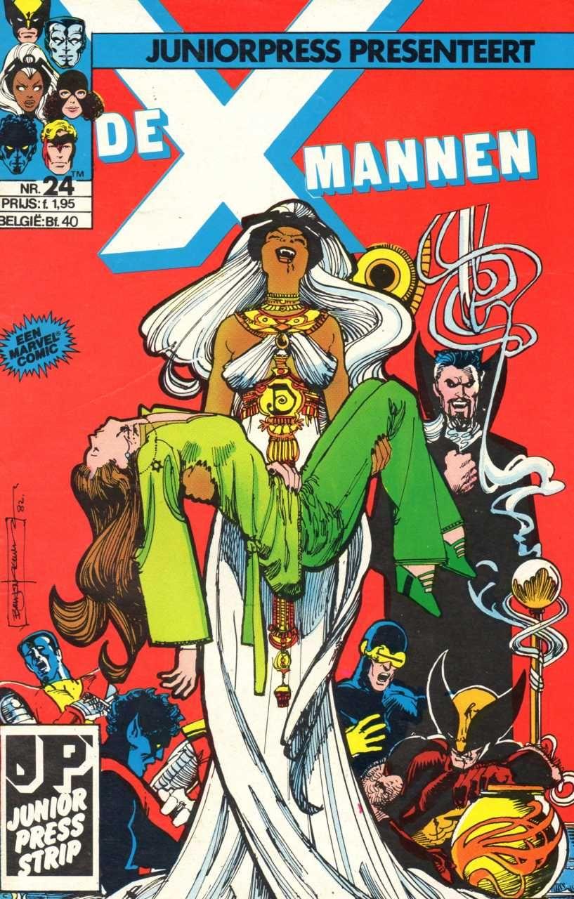 X-Mannen #24 Bloedige Dromen...