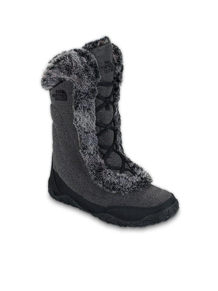 The North Face Women's Nuptse Fur IV Boots Stylish snow