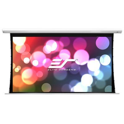 Elite Screens Saker Tab Tension Series Electric Motorized Projection Screen Viewing Area 120 With Images Projector Screen Projection Screen Projection Screens