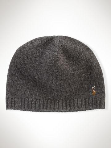 0d129d35177 Merino Wool Watch Cap - Polo Ralph Lauren Hats - RalphLauren.com ...