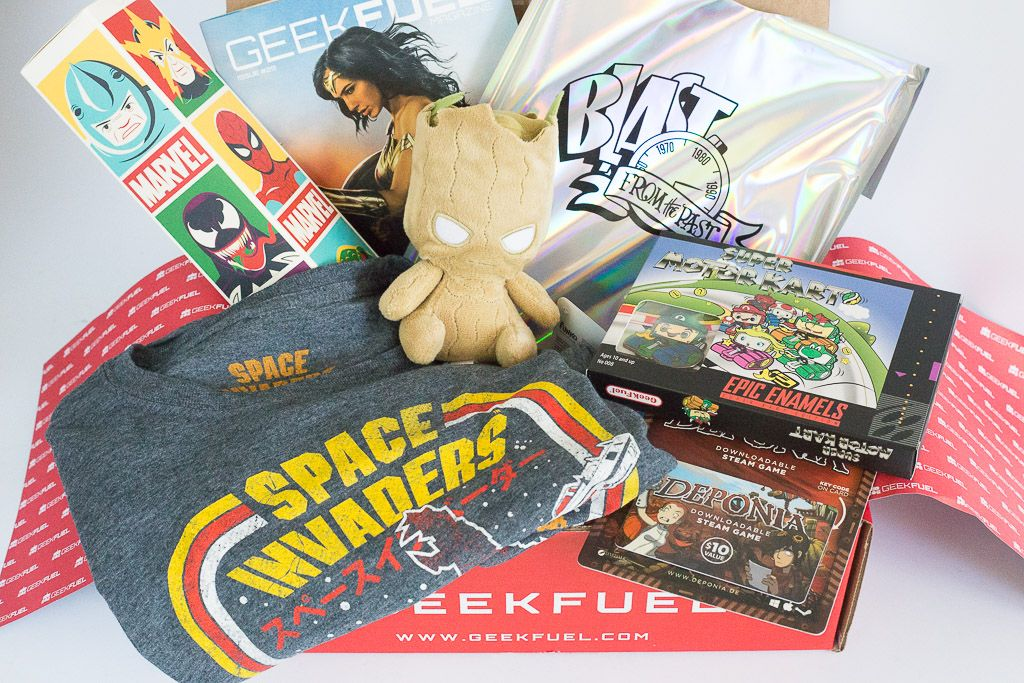 Geek fuel review june 2017 a year of boxes geek stuff