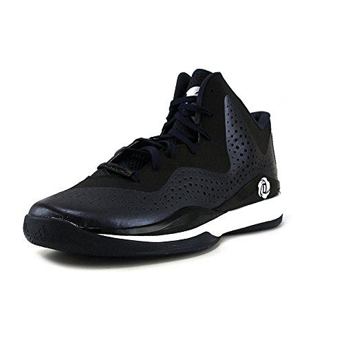 Adidas D Rose 773 III Mens Basketball Shoe 6 Navy-Black-White