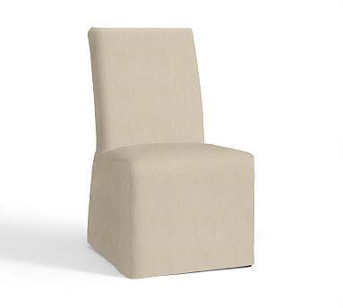 Pb Comfort Square Arm Slipcovered Chair Potterybarn