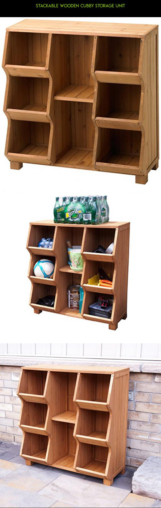 Stackable Wooden Cubby Storage Unit #racing #parts #unit #gadgets  #technology #