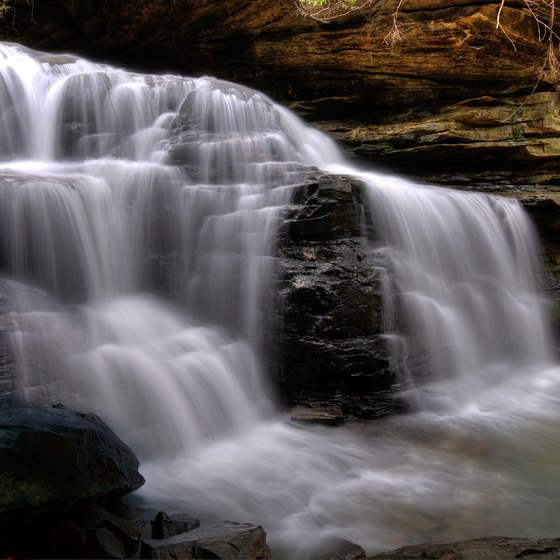 Waterfalls Nearest to Hiawassee, Georgia