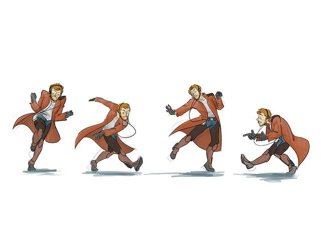 Ooga-Chaka: Awesome Fan Artworks of Star-Lord Jammin' Out   moviepilot.com