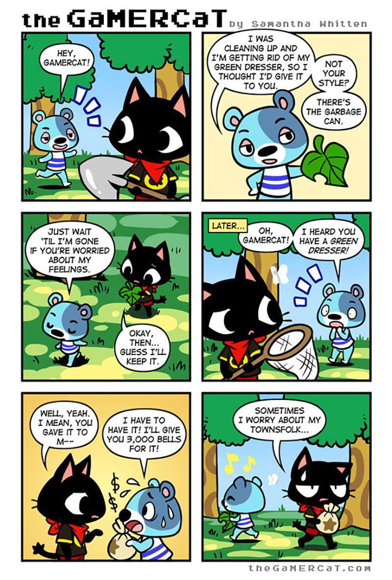 Sunday Comics Another Doomed Gamer cat, Comics