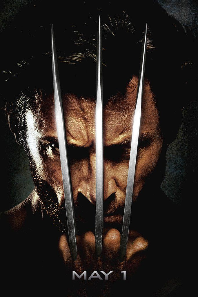 X Men Origins Wolverine Poster Wolverine Movie Wolverine Poster X Men