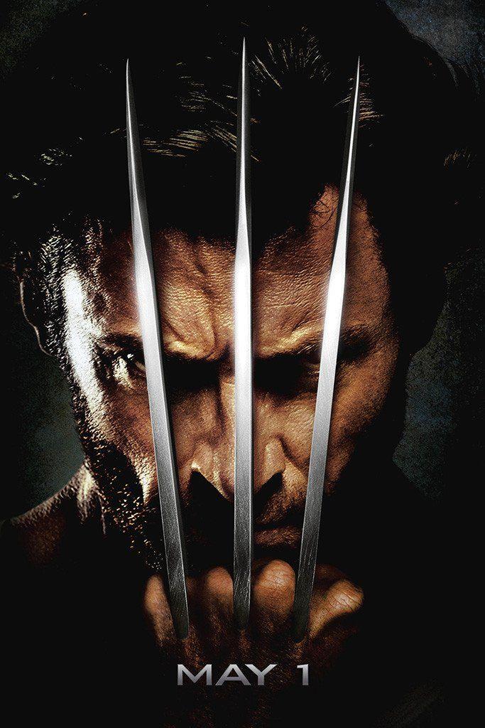 X Men Origins Wolverine Poster Wolverine Movie Wolverine Poster X Men