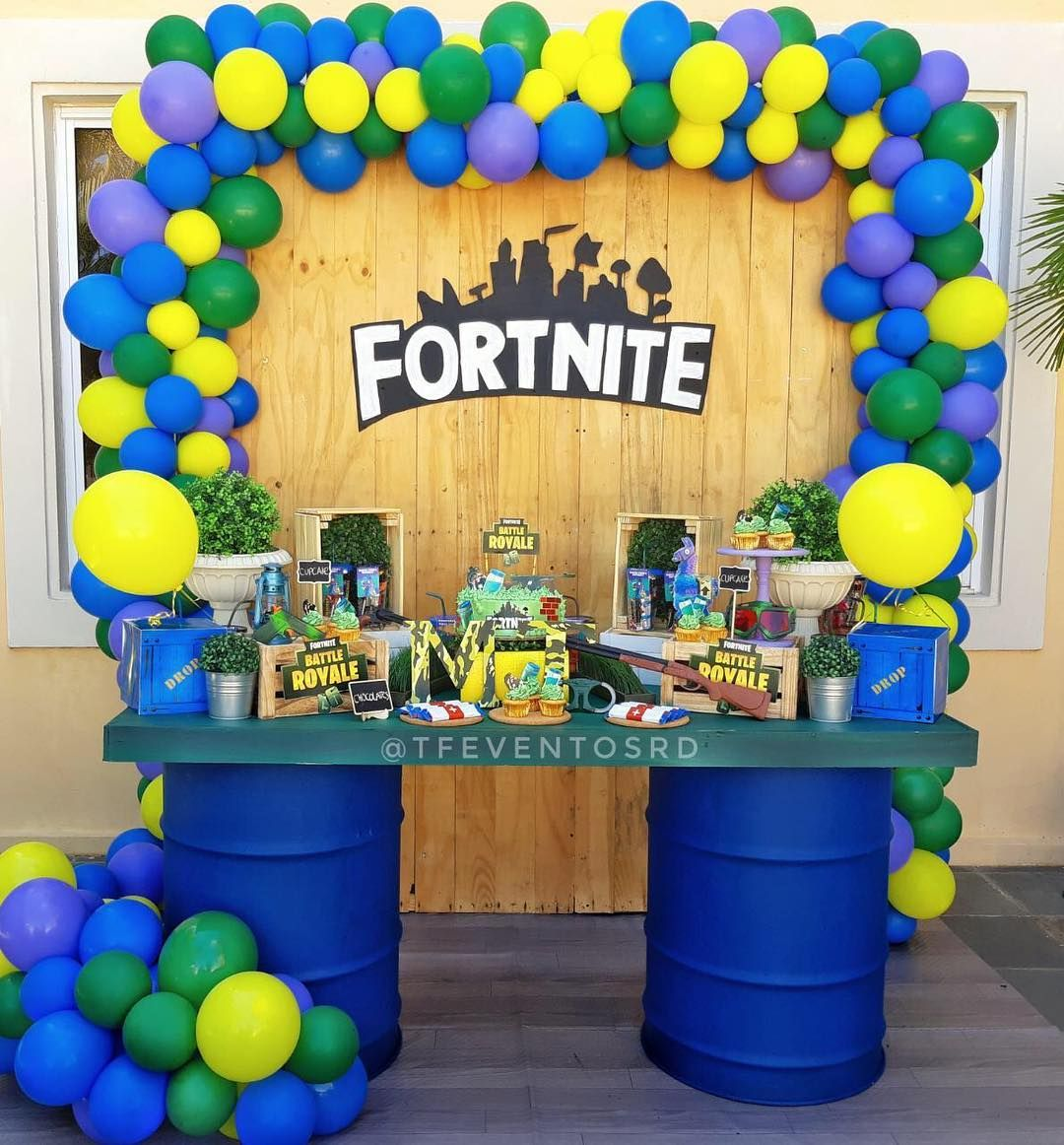Want to plan an epic Fortnite themed birthday party, but