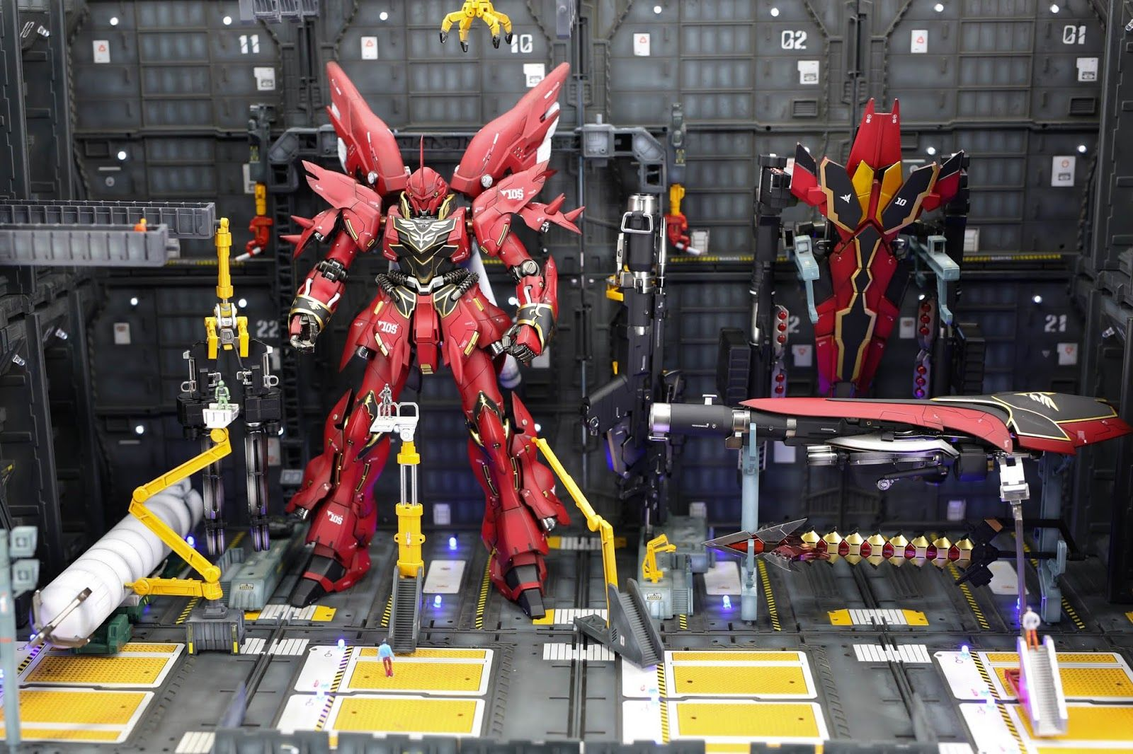 GUNDAM GUY: MG 1/100 Full Armor Sinanju - Diorama Build
