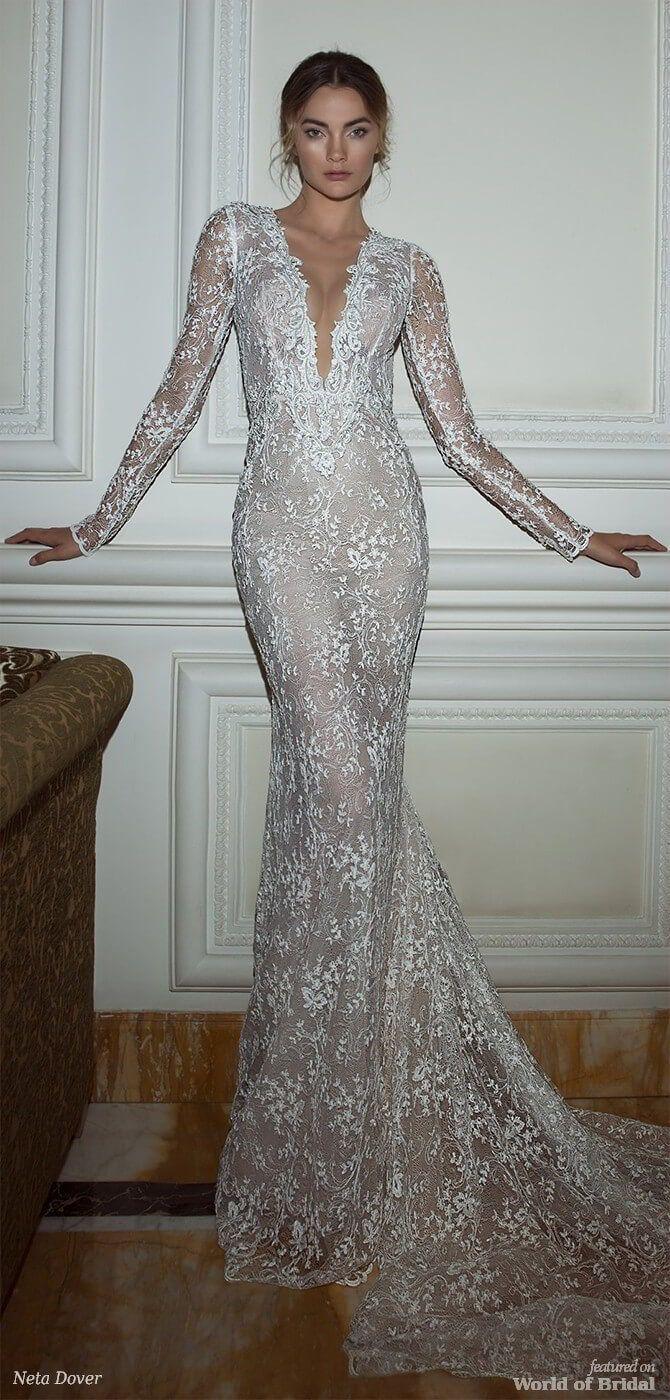 Neta dover wedding dresses wedding dresses with sleeves