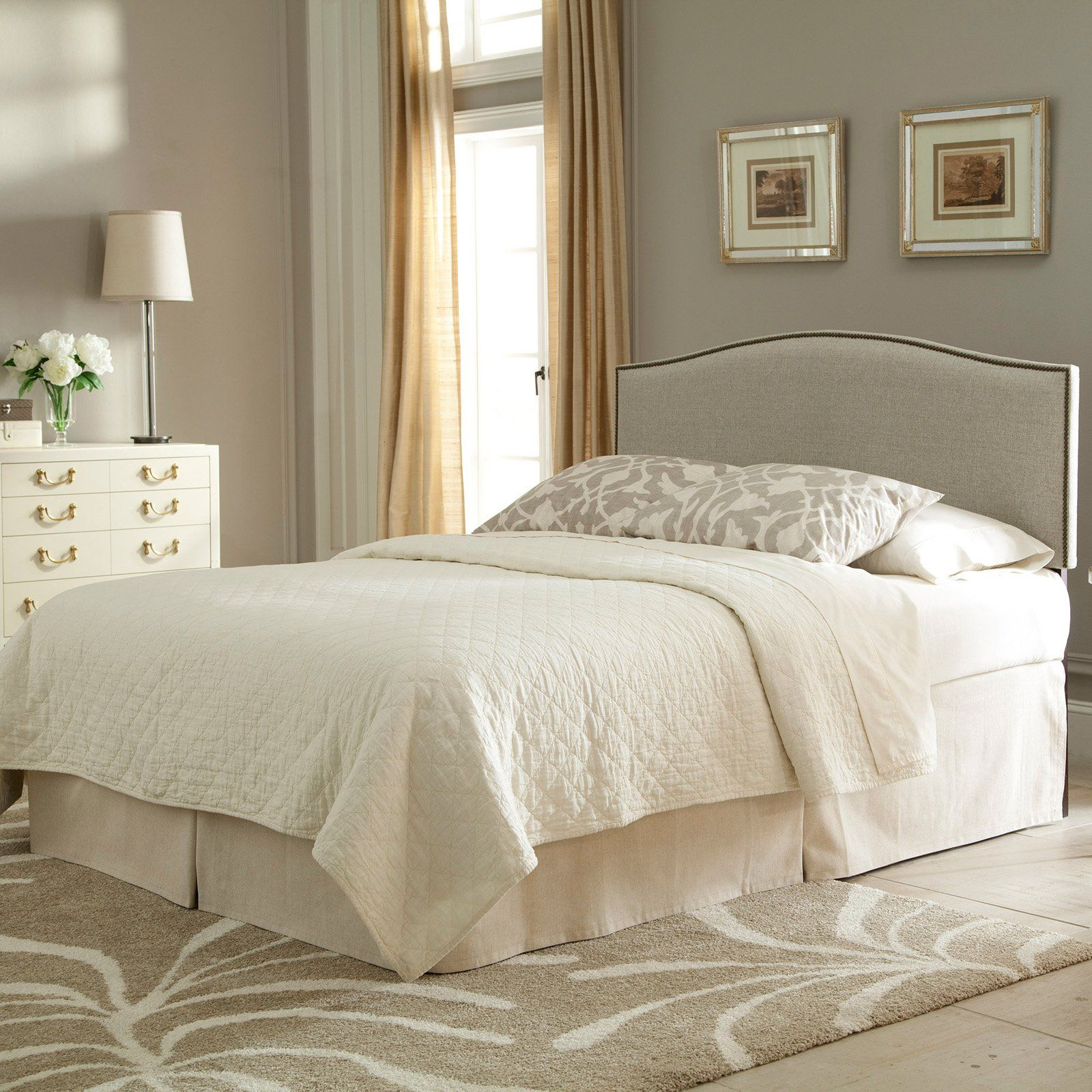 Fashion Bed Group Carlisle Adjustable Height Upholstered