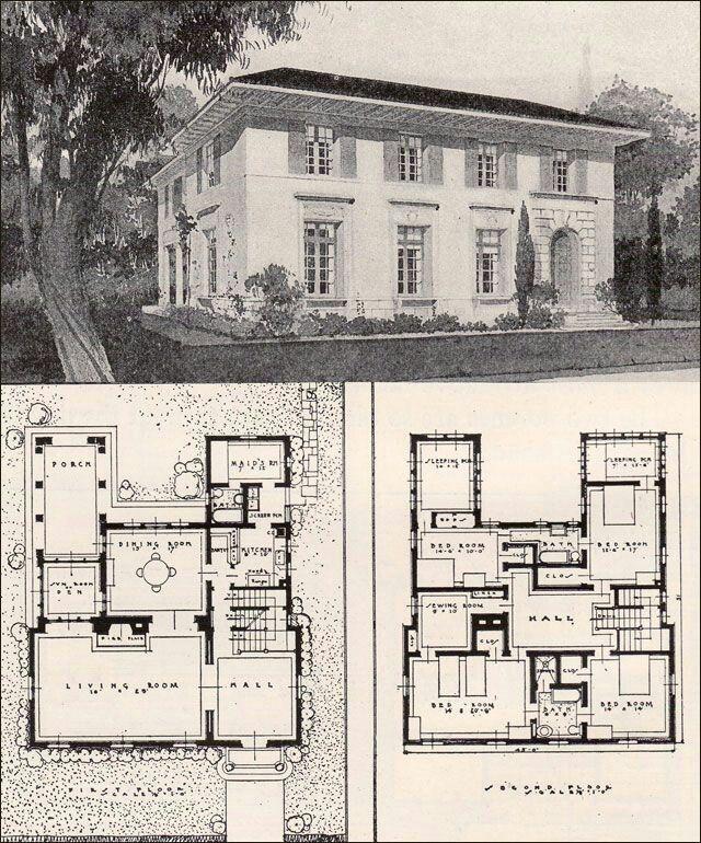 Thevirtualbuilder House Plans Vintage House Plans Mediterranean House Plans