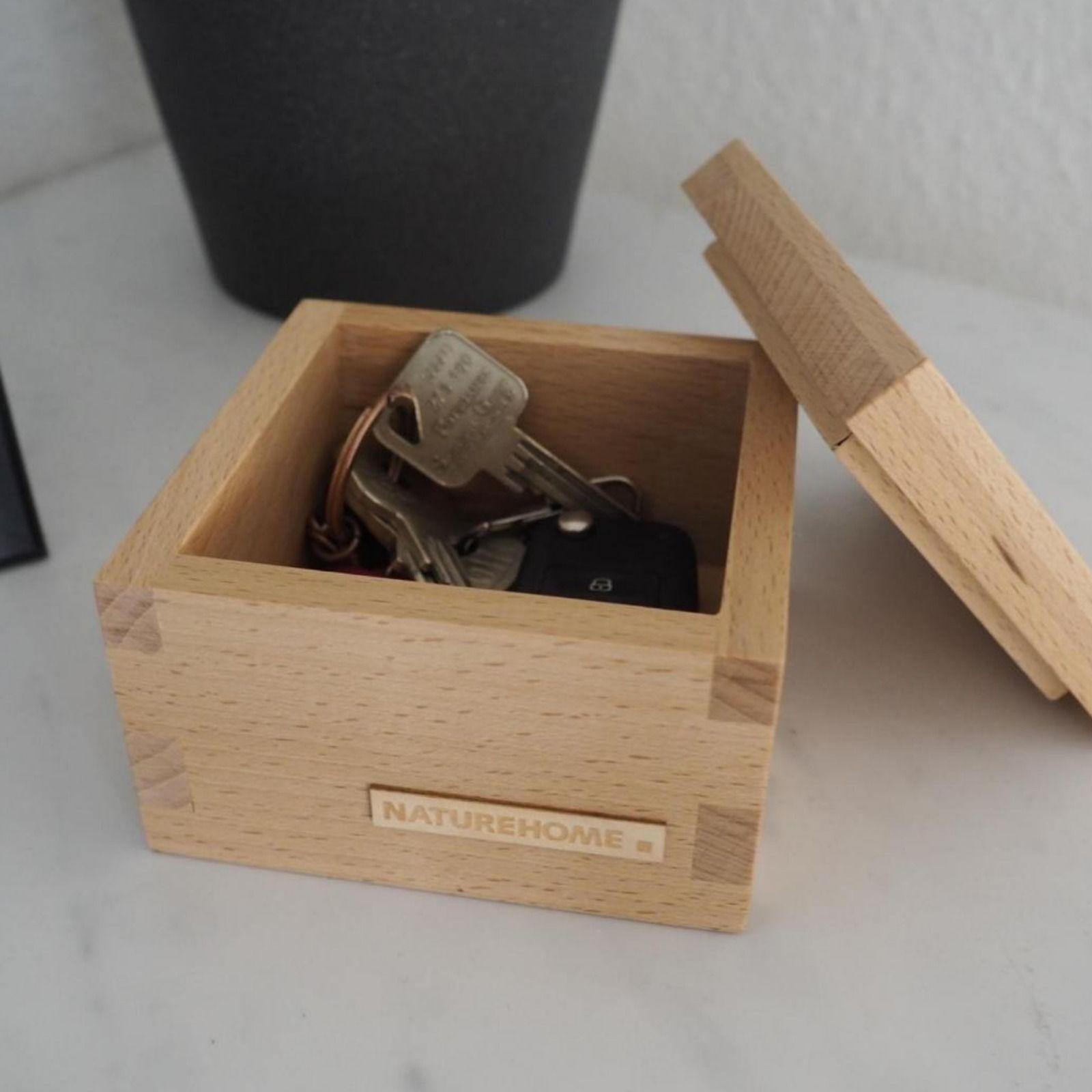 Holzbox Buche Mit Deckel Verschiedene Grossen Holz Box Und