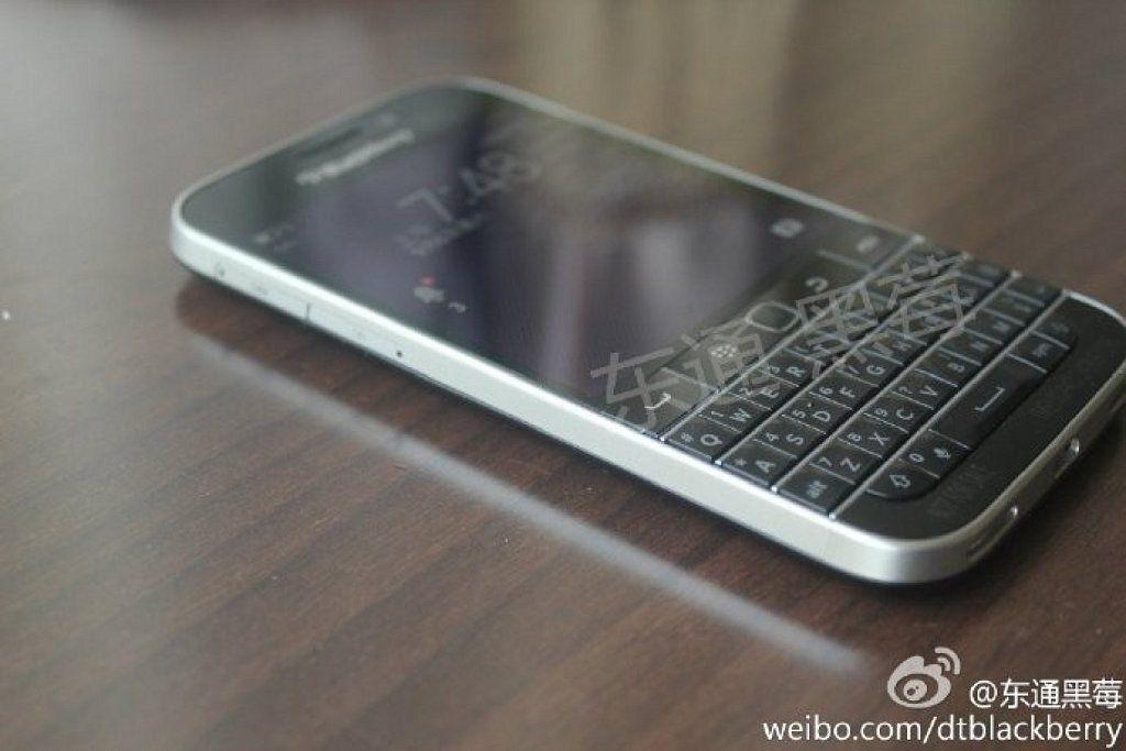 Se filtran imagenes y caracteristicas del nuevo Blackberry Classic Q20