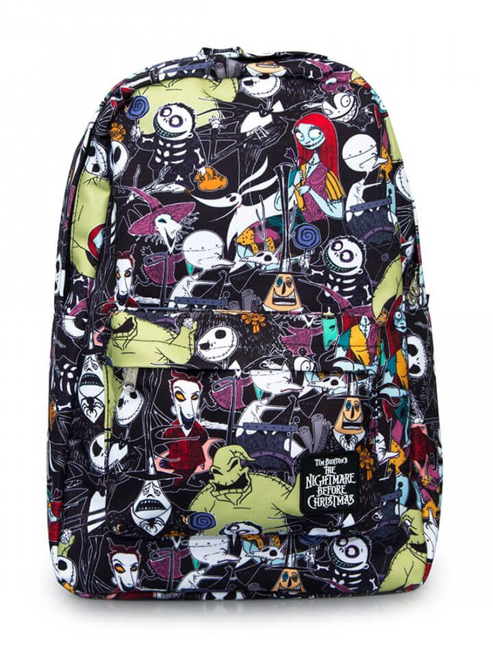 character print backpack by loungefly x nightmare before christmas blackmulti - The Nightmare Before Christmas Backpack