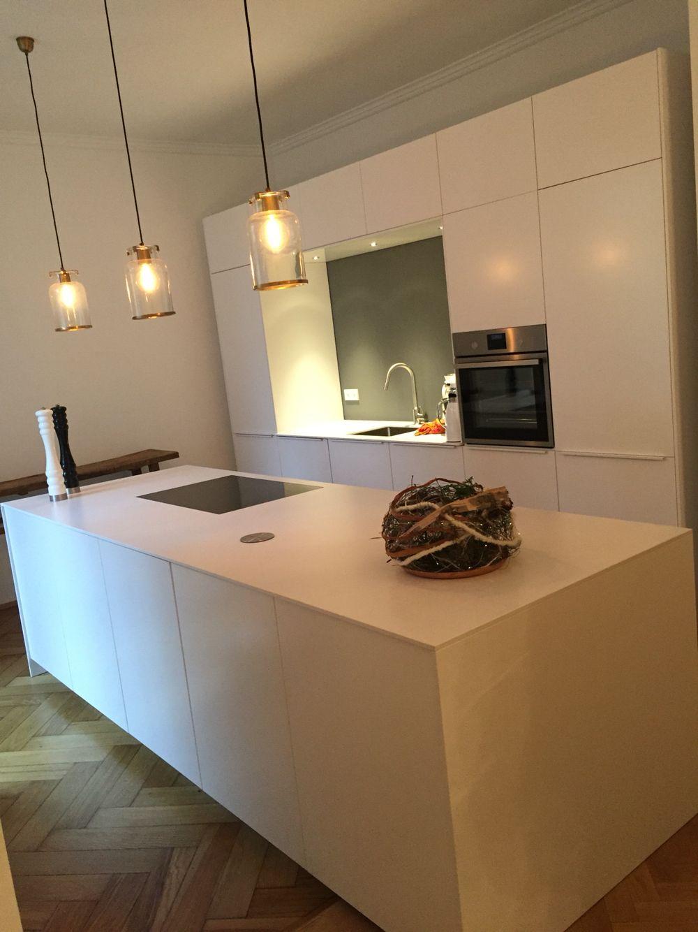 Sitzgruppe Esszimmer Weiss Honig: Küche, Bulthaupt Küchen