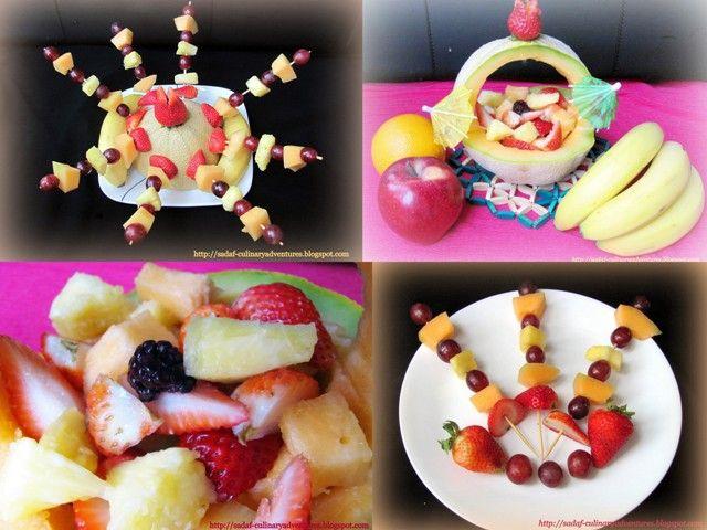 fruit and vegetable  flora arrangements | Fruit Carving Arrangements and Food Garnishes: September 2011
