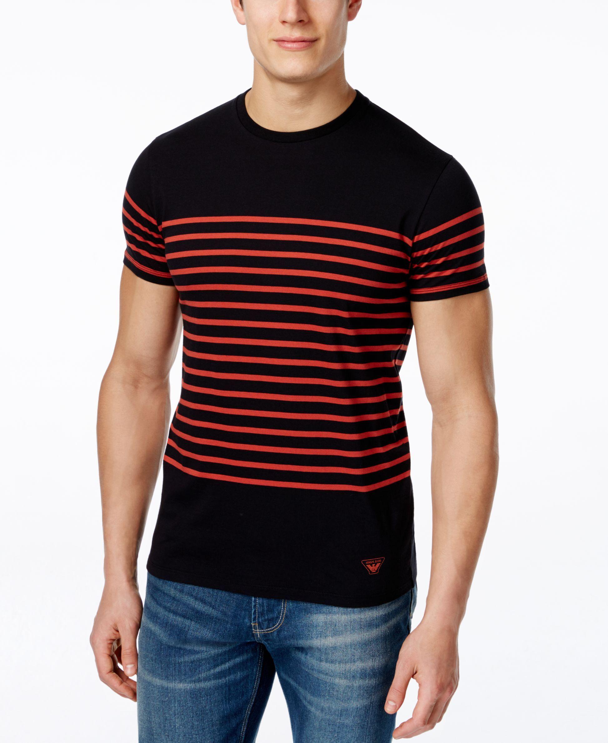 9c65644a Mens Armani Jeans T Shirt - DREAMWORKS