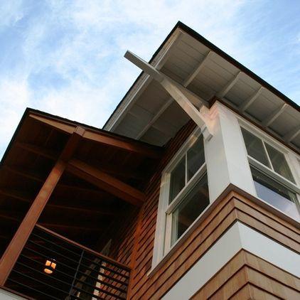 Eaves Detail Eclectic Exterior By Richard Bubnowski Design LLC
