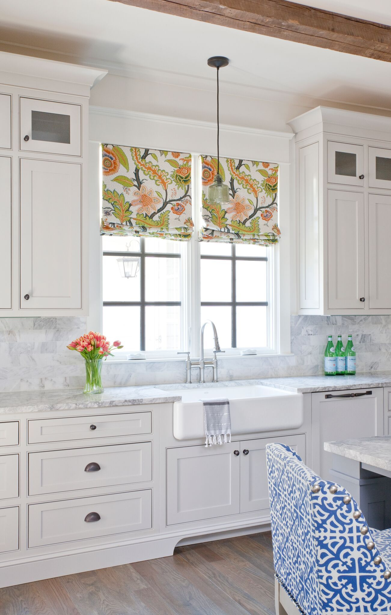 This White Kitchen Has a Colorful Personality! | Schumacher ...