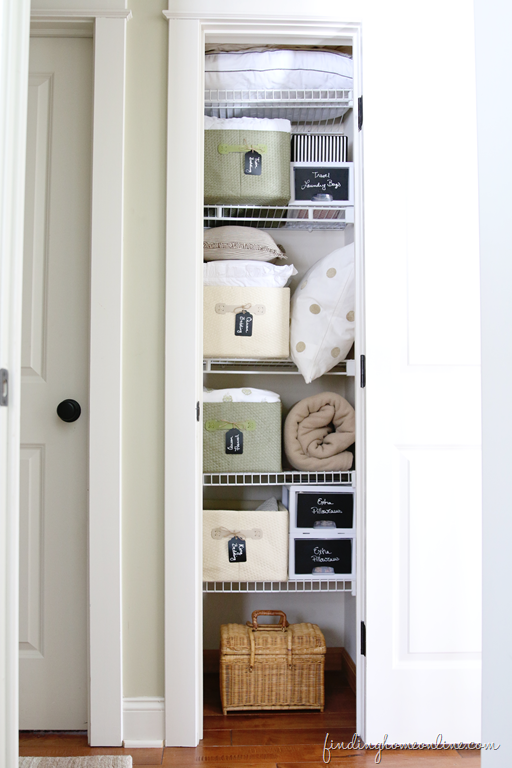 Tips For Organizing A Small Linen Closet Small Linen Closets