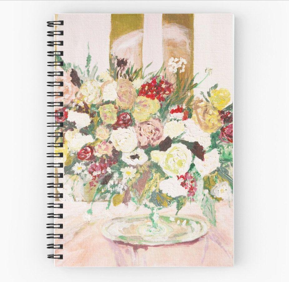 Wedding Journal Wedding Notebook To Do List Floral Blush Wedding