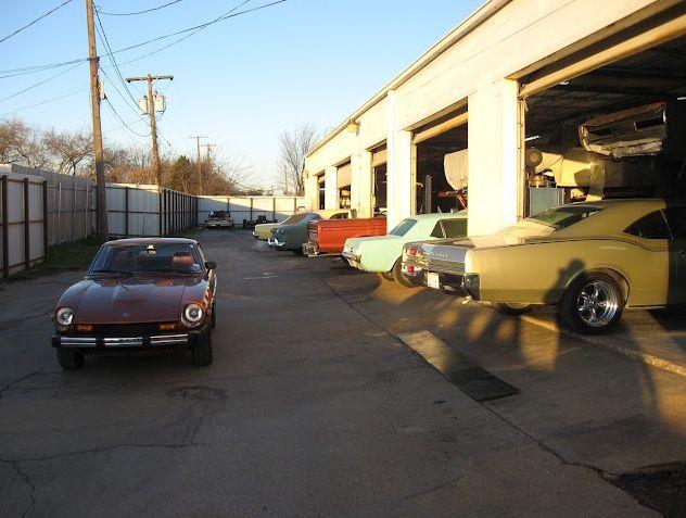 Classic Cars at Wilson Auto Repair in Texas   Classic car ...
