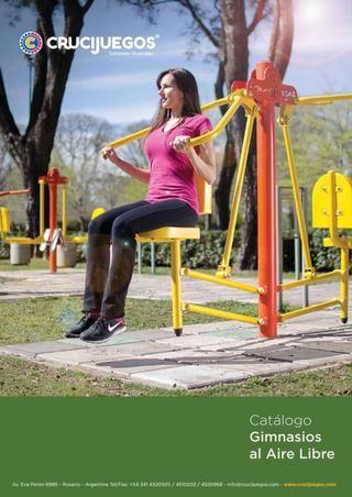 Catálogo de Gimnasios al aire libre - Crucijuegos  Línea Crucigym: Gimnasios al aire libre. Mobiliario urbano para espacio público.  Crucijuegos  www.crucijuegos.com/productos