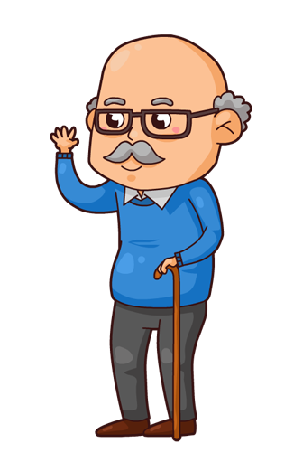 Cartoon pictures of grandparents google search humour