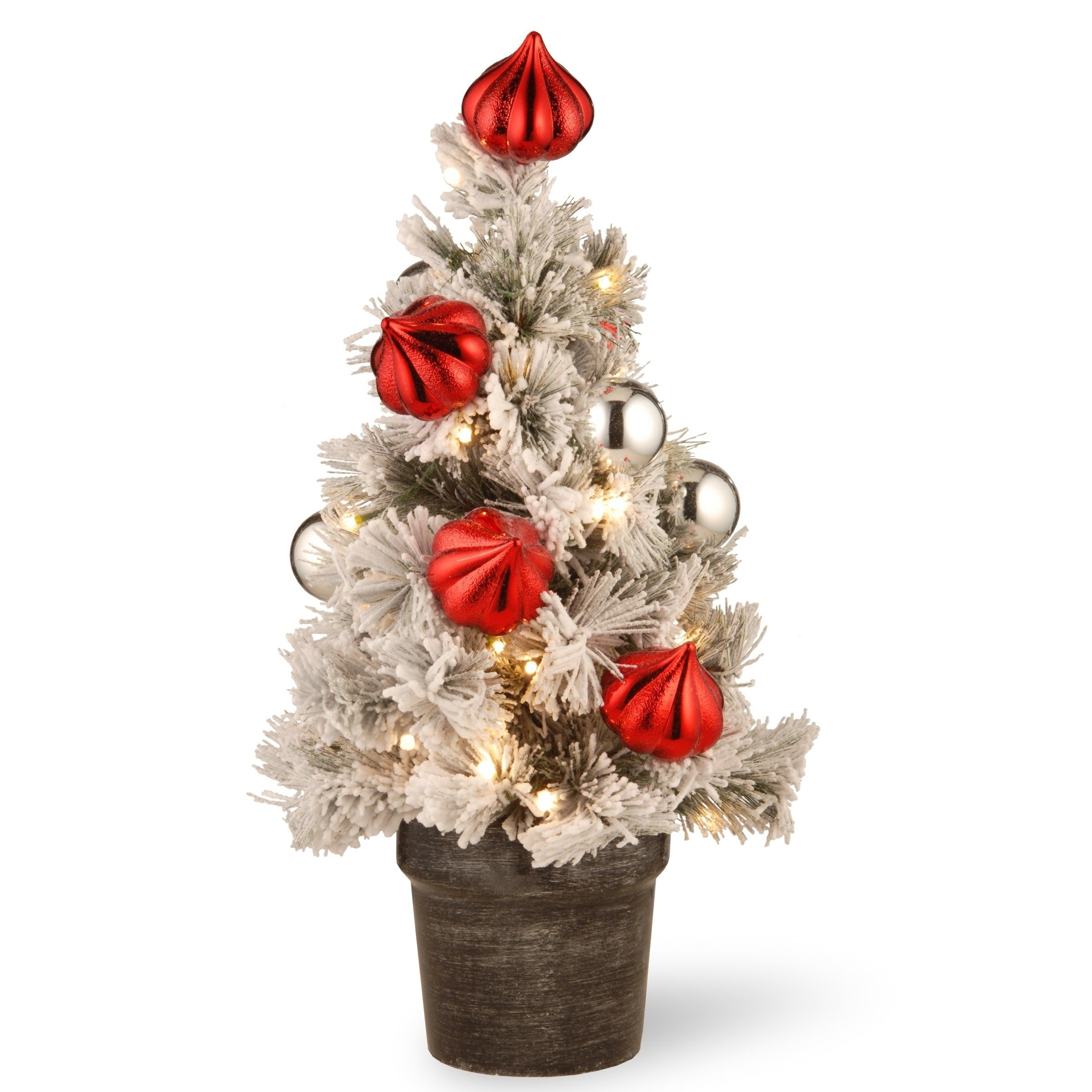 National Tree Company 2' Snowy Bristle Pine Tabletop