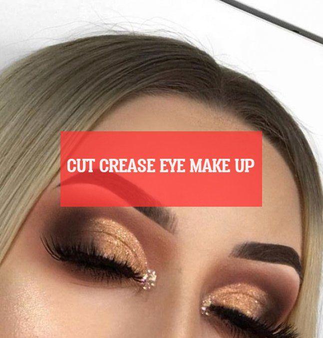 schnittfalte augen make-up