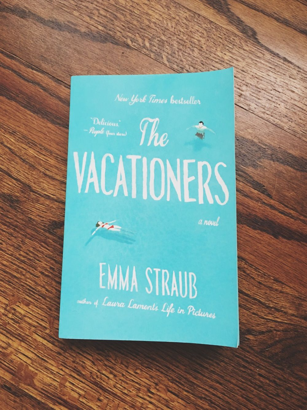 Book Worm Review: The Vacationers — PARKER PERIDOT