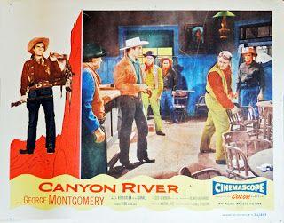 Canyon River La Caravane Des Hommes Traques Harmon Jones 1956 Westerns Caravane Wyoming