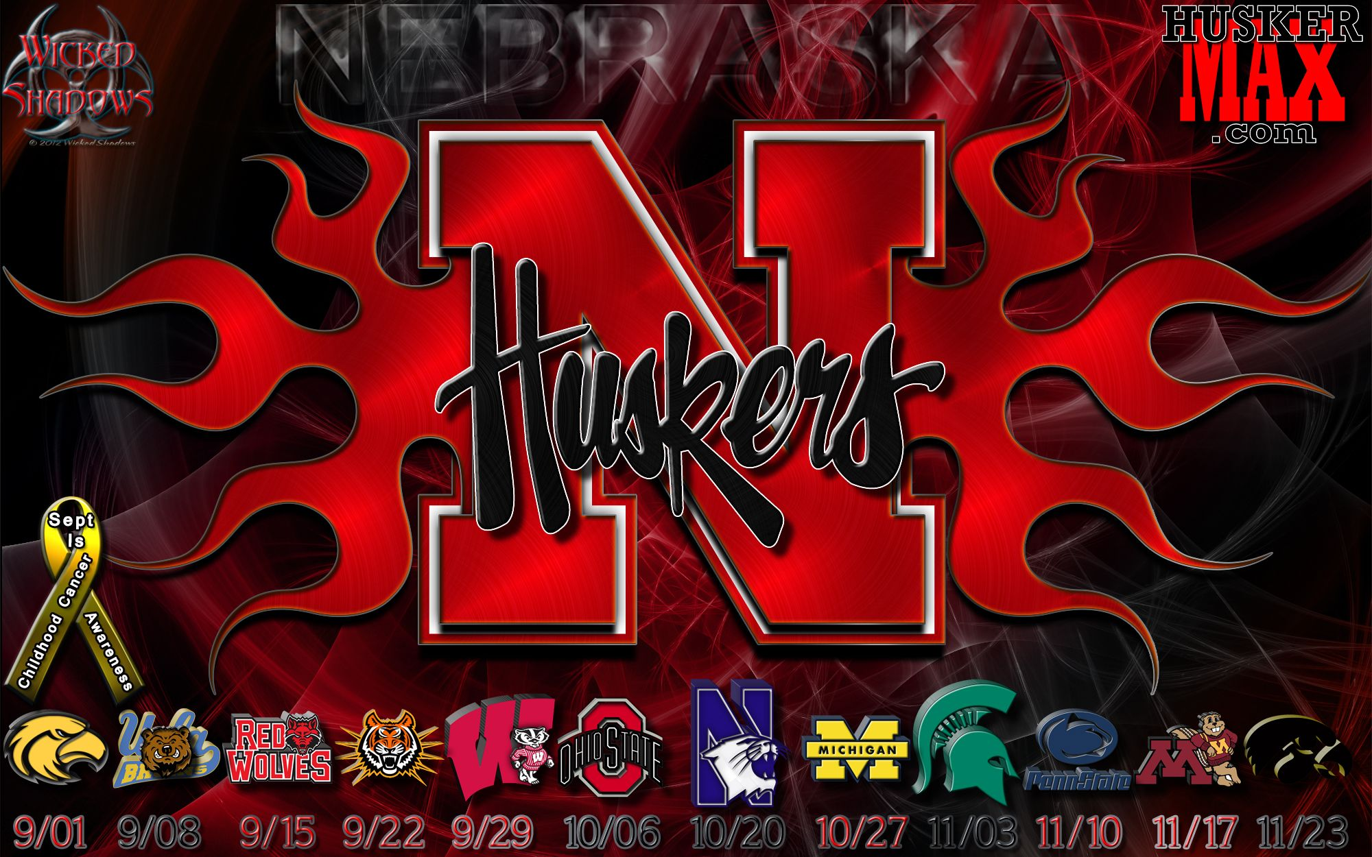 Nebraska Husker Logo Clip Art ...