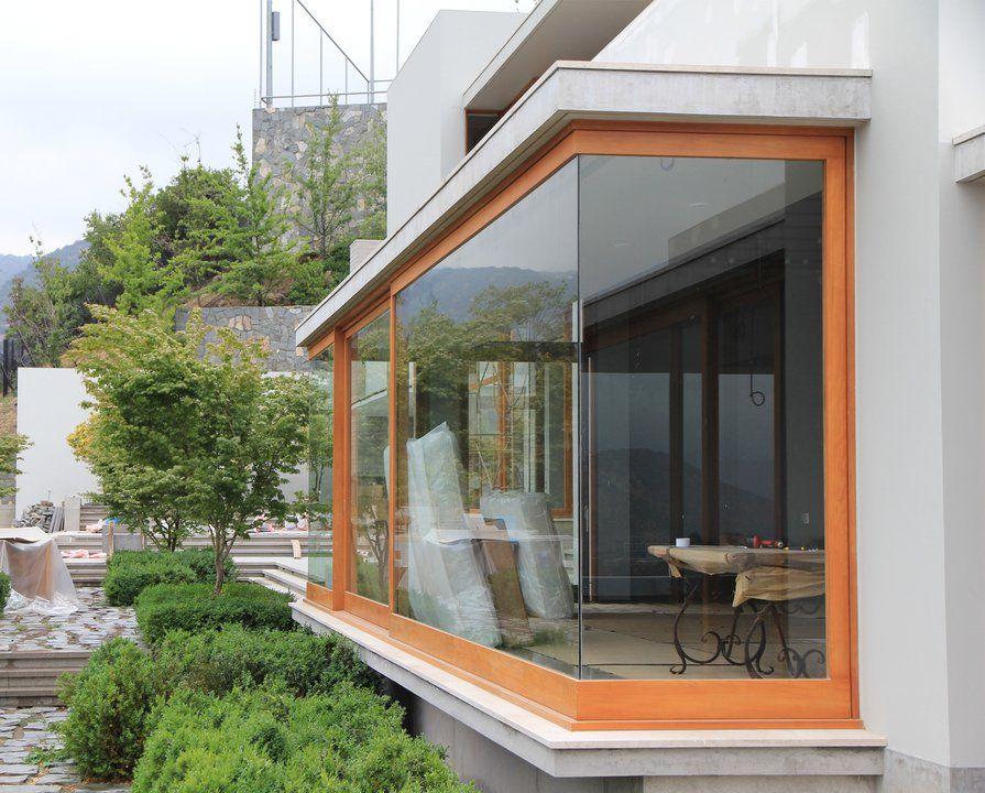 Paneles para fachadas exteriores sistema de fijacin acero - Paneles madera exterior ...