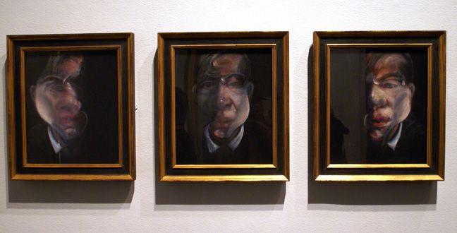 """Three Studies for a Self-Portrait"""