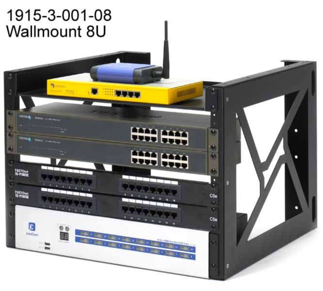 wall uk hinged for management server wallmount open frame mount thumbnail depth racks rack main