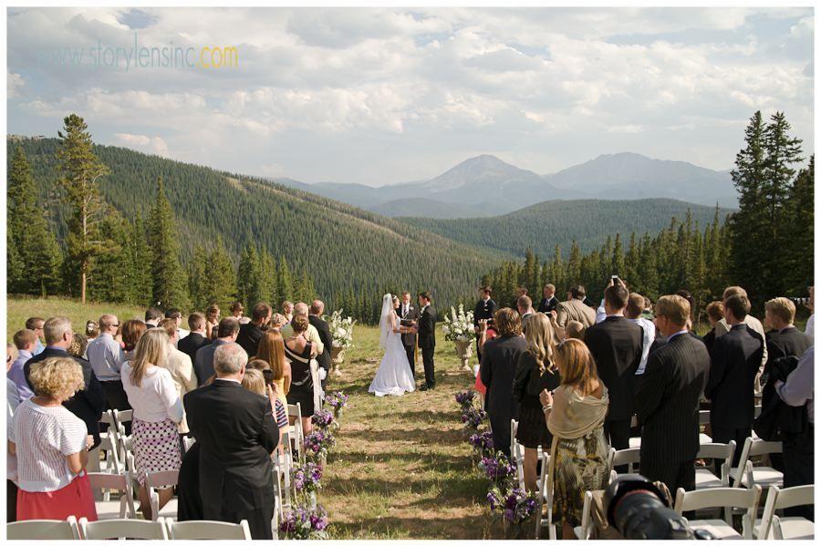 Bekah And Daniel S Wedding Anion Run Keystone Colorado Story Lens Photography