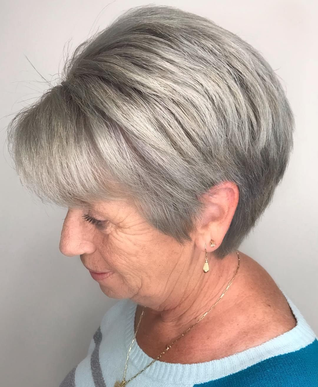 4+ Top Image Hairstyles For Grey Hair Over 4 4  Hot hair
