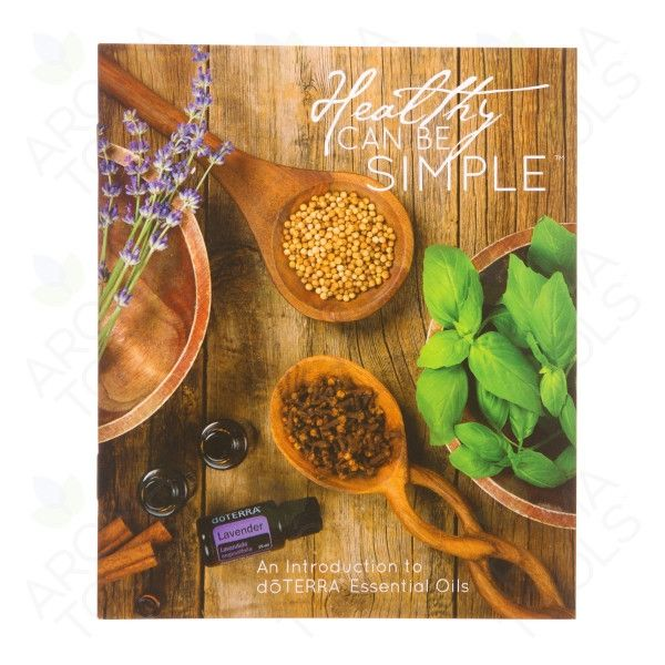 healthy can be simple booklet 10 pack doterra aromatools