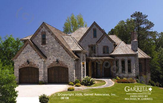 Maison De Beau House Plan 08108 Garrell Associates Inc Country Style House Plans Dream House Plans Facade House